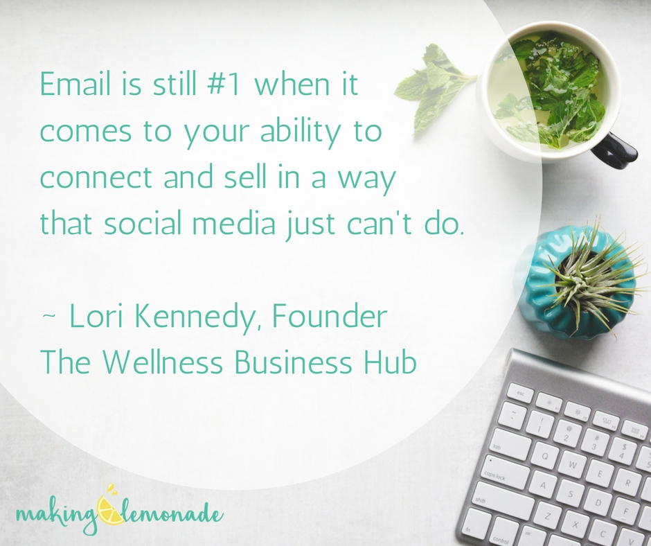 Why You're Not Making Money As A Health Coach: Email Marketing