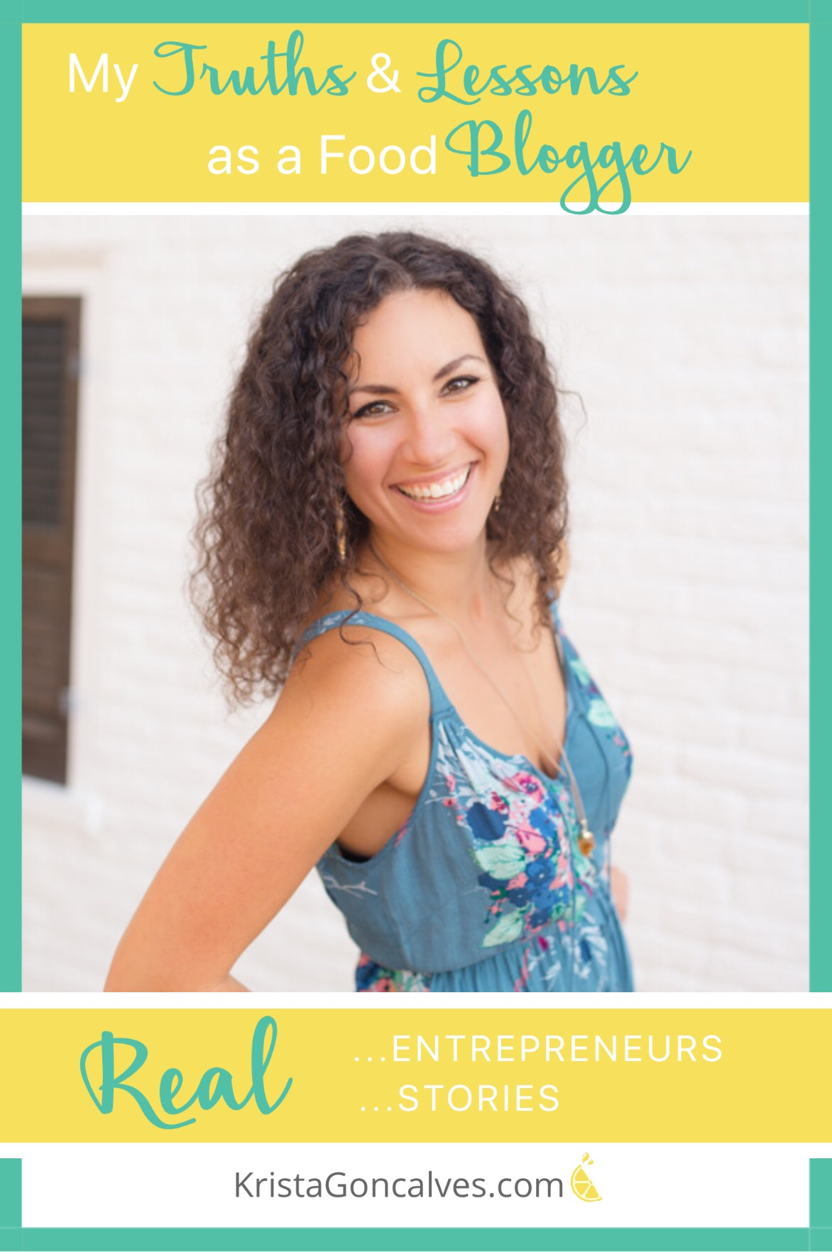 Sharon Lehman, RD | My Truths & Lessons as a Food Blogger