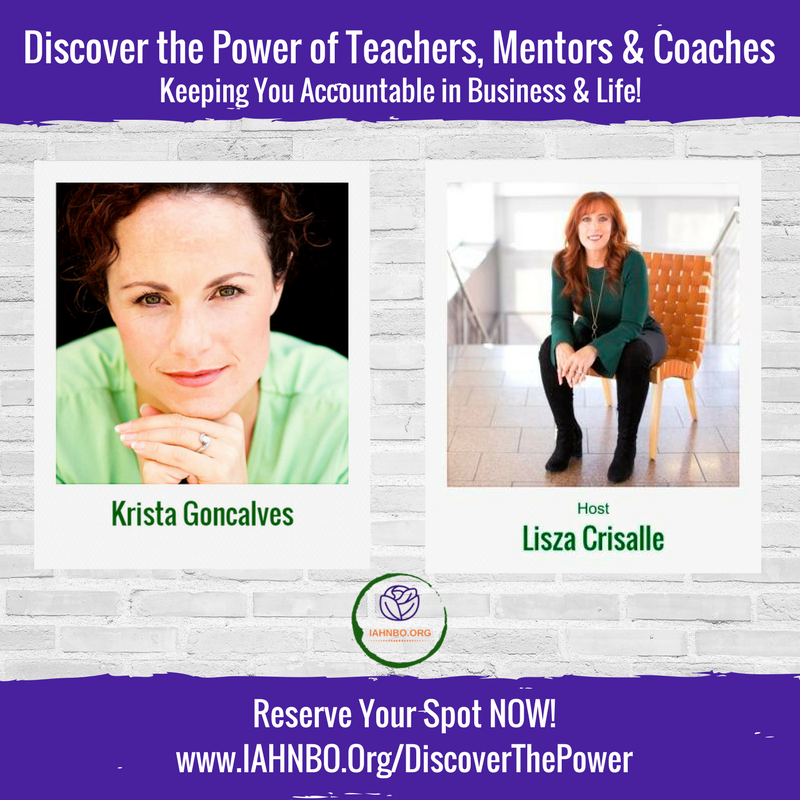 Krista Goncalves Featured in the Media: Discover the Power of Teachers, Mentors & Coaches
