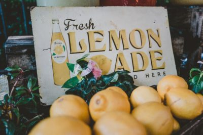 Turn lemons into lemonade - how I built a successful lemonade stand