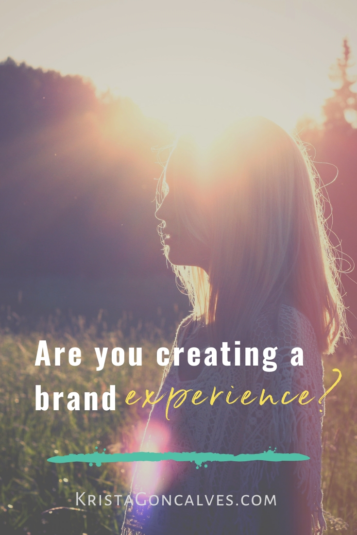 Brand Experience | Holistic Marketing & Branding | Krista Goncalves Co.