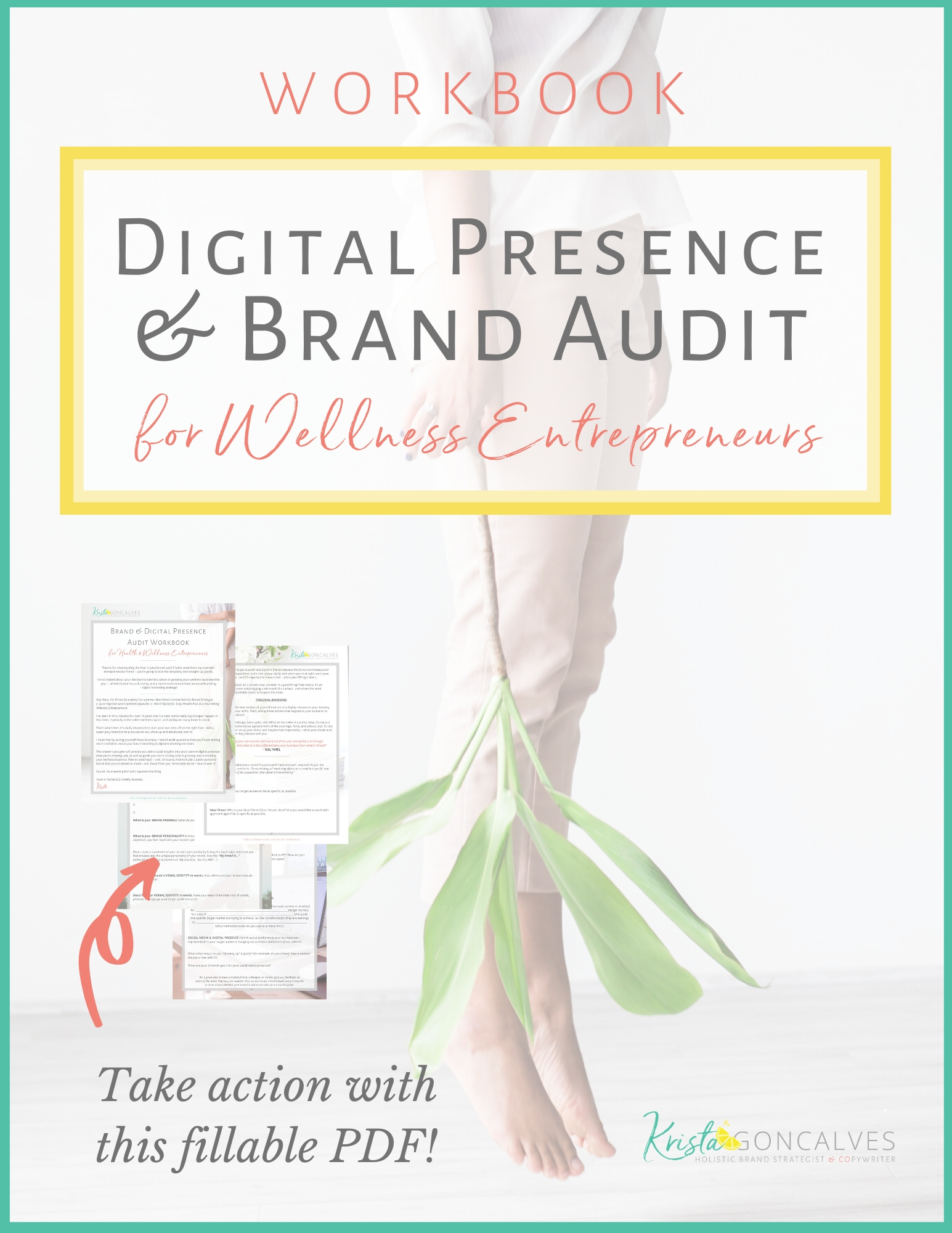 Digital Presence & Brand Audit Workbook | Krista Goncalves Co.