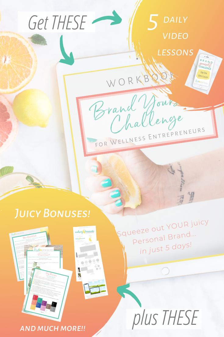 personal brand challenge for Wellness Entrepreneurs