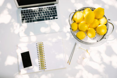 Successful online business | Lemons into lemonade | Krista Goncalves Co.