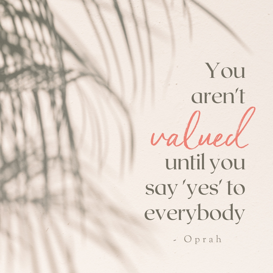 Time management for Wellness Businesses | Oprah quote | Krista Goncalves
